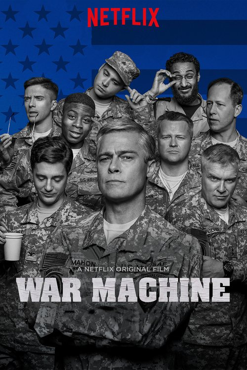 """Poster for the movie """"War Machine"""""""