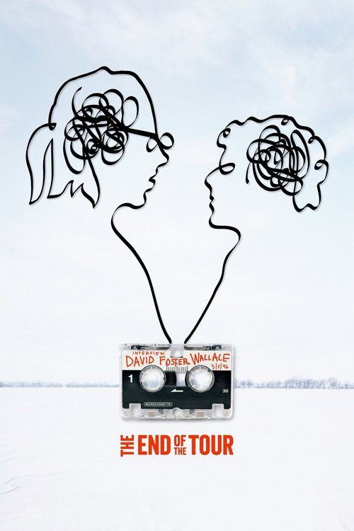 """Poster for the movie """"The End of the Tour"""""""