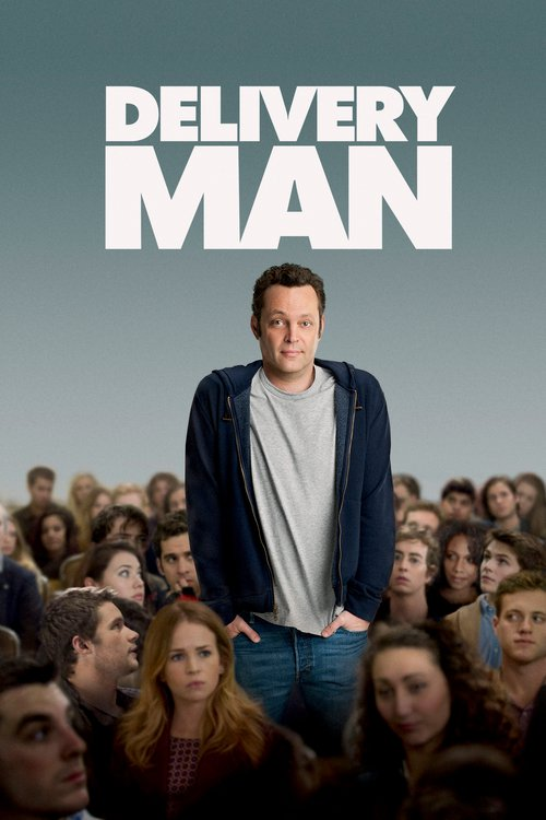 """Poster for the movie """"Delivery Man"""""""