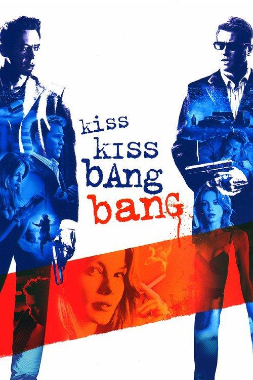 """Poster for the movie """"Kiss Kiss Bang Bang"""""""