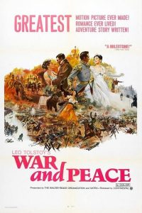 "Poster for the movie ""War and Peace"""