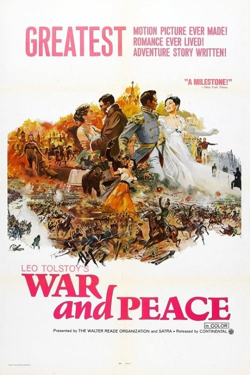 """Poster for the movie """"War and Peace"""""""