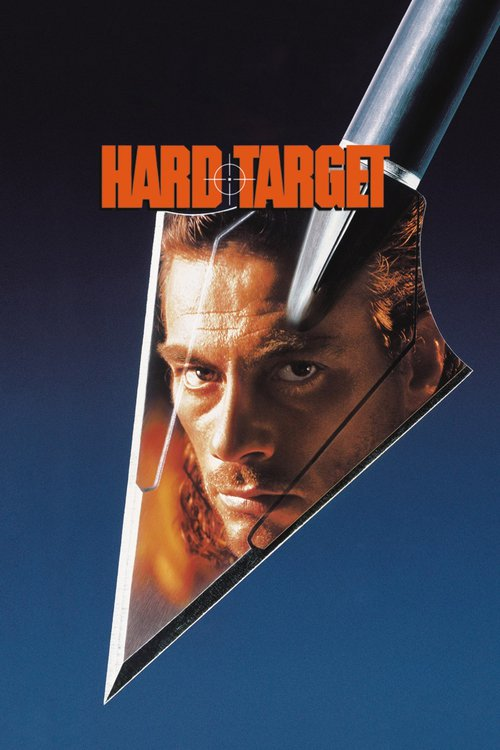 """Poster for the movie """"Hard Target"""""""