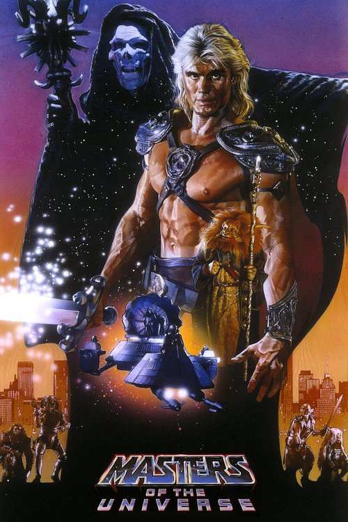 "Poster for the movie ""Masters of the Universe"""