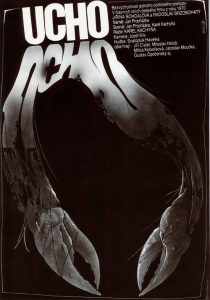 "Poster for the movie ""The Ear"""