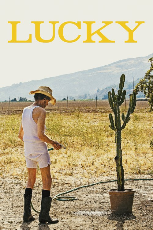 "Poster for the movie ""Lucky"""