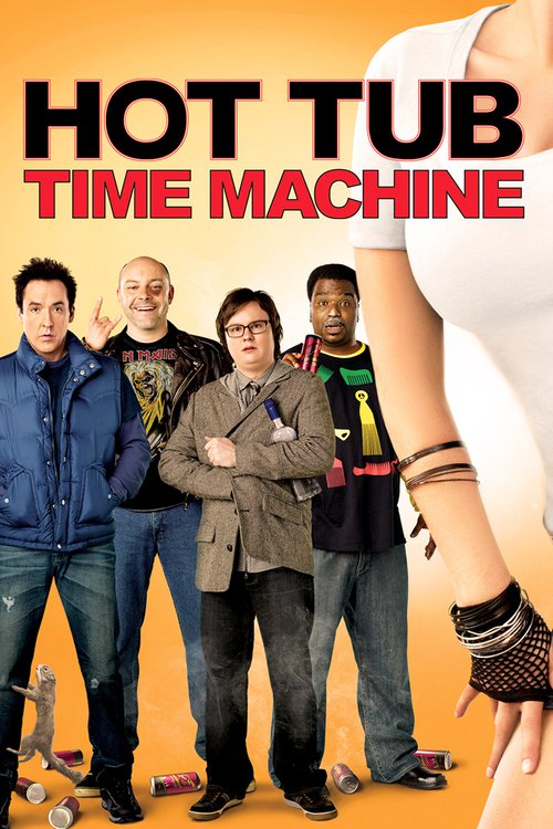 "Poster for the movie ""Hot Tub Time Machine"""
