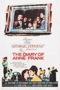 "Poster for the movie ""The Diary of Anne Frank"""