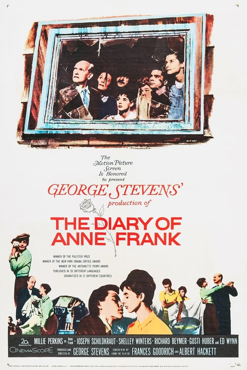 """Poster for the movie """"The Diary of Anne Frank"""""""