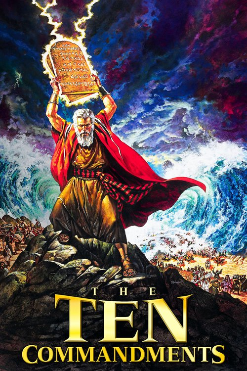 """Poster for the movie """"The Ten Commandments"""""""