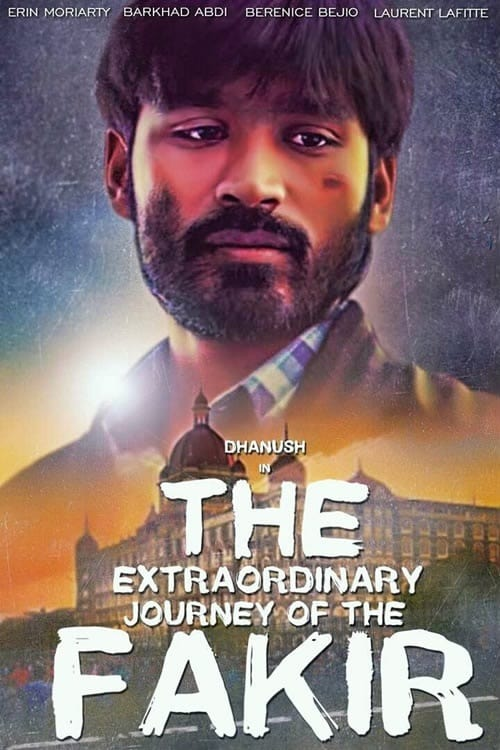 "Poster for the movie ""The Extraordinary Journey of the Fakir"""