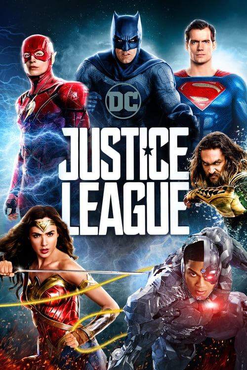 "Poster for the movie ""Justice League"""