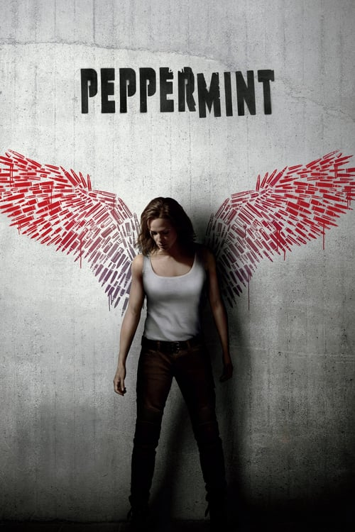 """Poster for the movie """"Peppermint"""""""