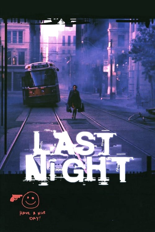 """Poster for the movie """"Last Night"""""""