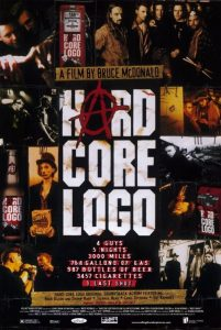 "Poster for the movie ""Hard Core Logo"""