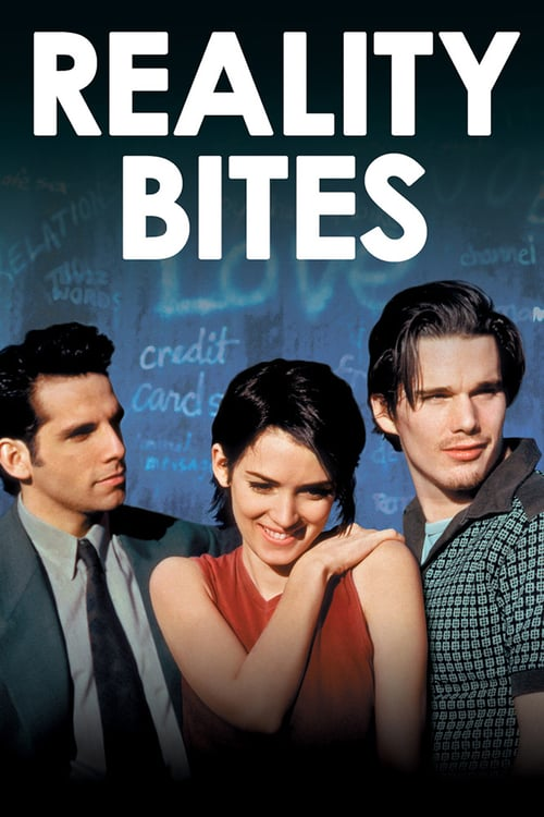 "Poster for the movie ""Reality Bites"""
