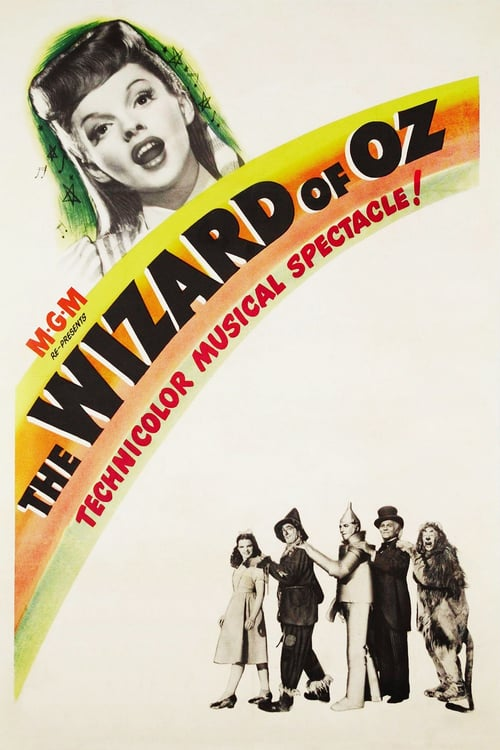"Poster for the movie ""The Wizard of Oz"""