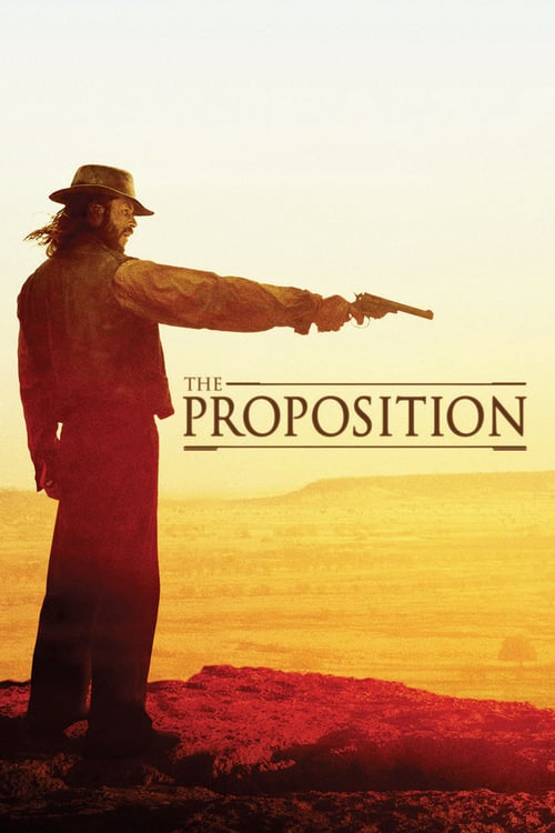"Poster for the movie ""The Proposition"""
