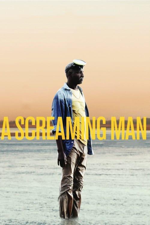Un homme qui crie