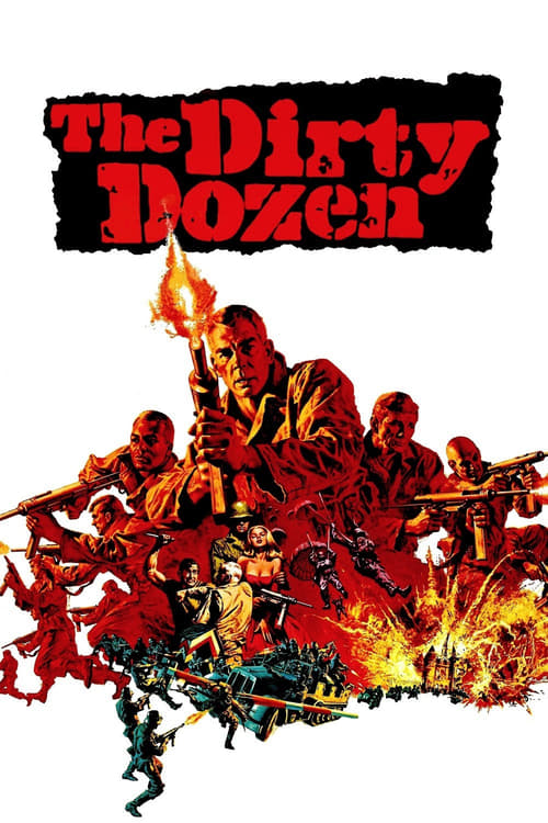 "Poster for the movie ""The Dirty Dozen"""