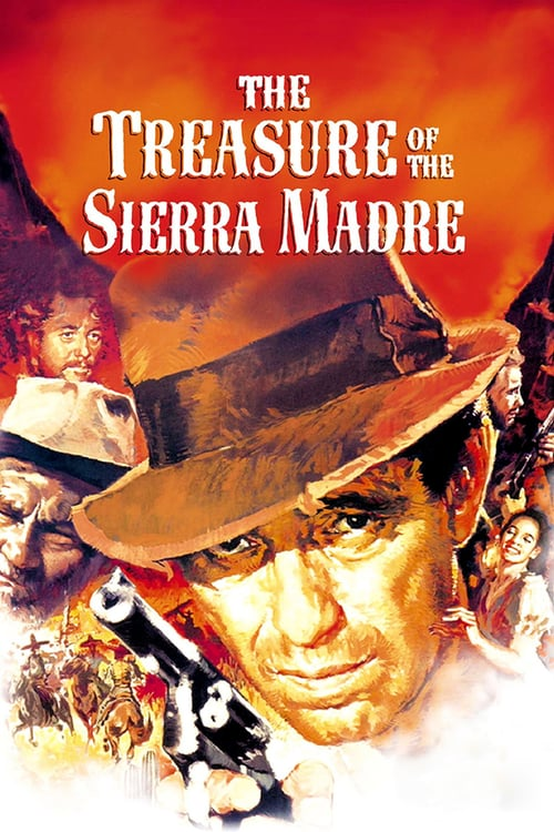"Poster for the movie ""The Treasure of the Sierra Madre"""