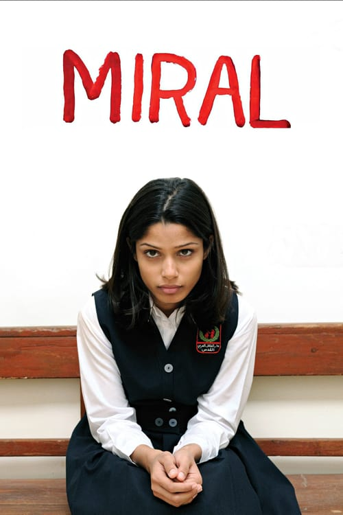 """Poster for the movie """"Miral"""""""