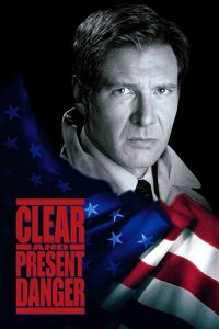 "Poster for the movie ""Clear and Present Danger"""