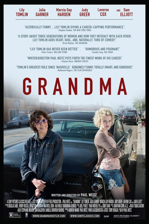 """Poster for the movie """"Grandma"""""""