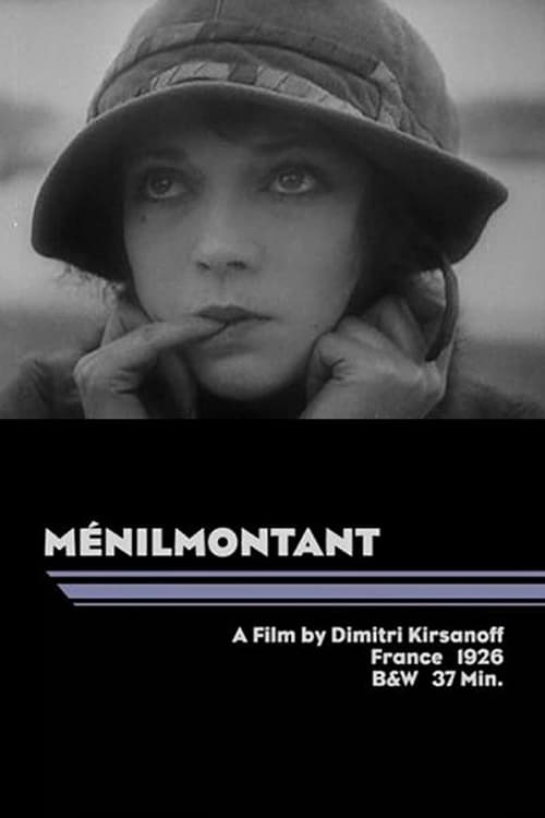 "Poster for the movie ""Ménilmontant"""