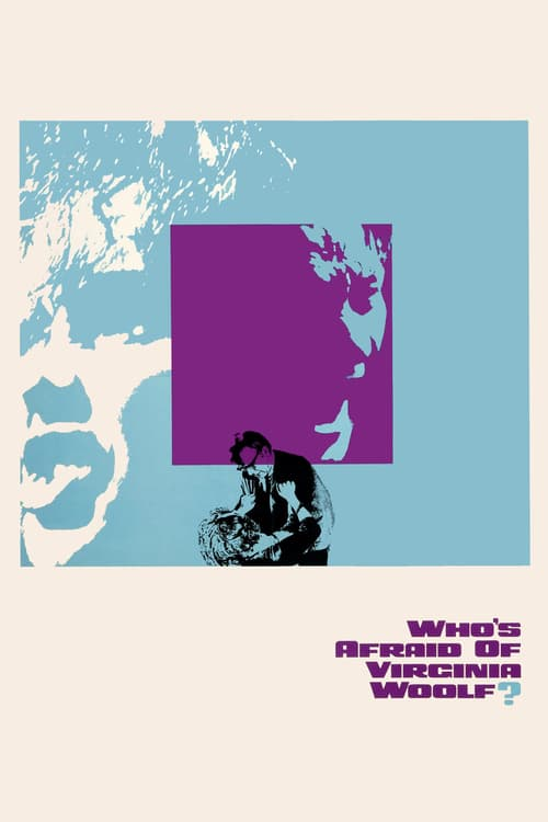 """Poster for the movie """"Who's Afraid of Virginia Woolf?"""""""