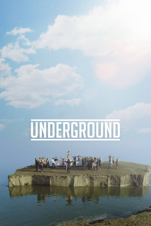 "Poster for the movie ""Underground"""