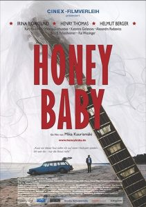 """Poster for the movie """"Honey Baby"""""""