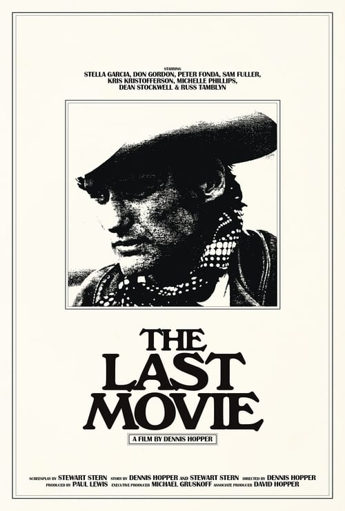 """Poster for the movie """"The Last Movie"""""""