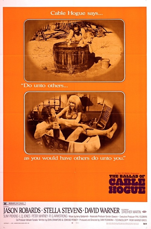 """Poster for the movie """"The Ballad of Cable Hogue"""""""