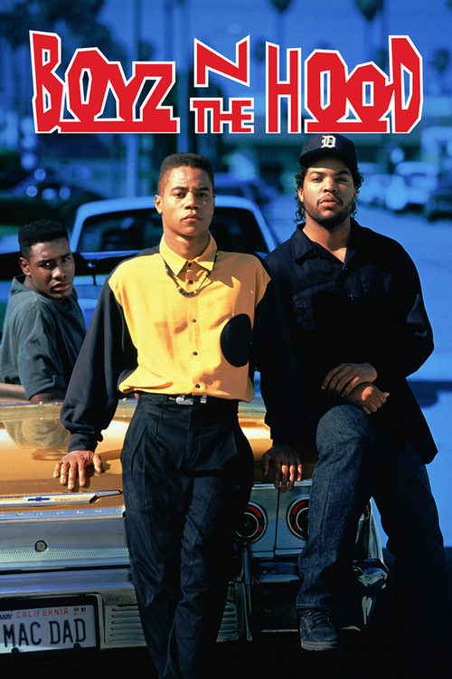 """Poster for the movie """"Boyz n the Hood"""""""