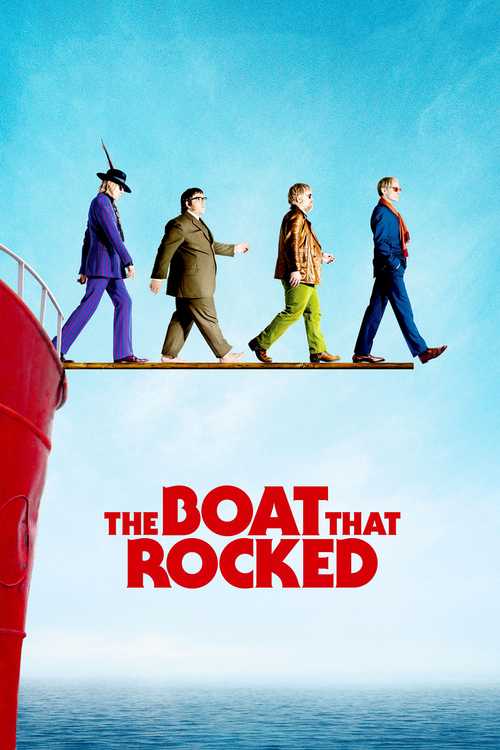 """Poster for the movie """"The Boat That Rocked"""""""