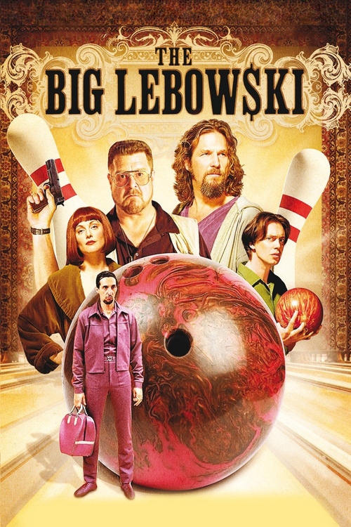"""Poster for the movie """"The Big Lebowski"""""""