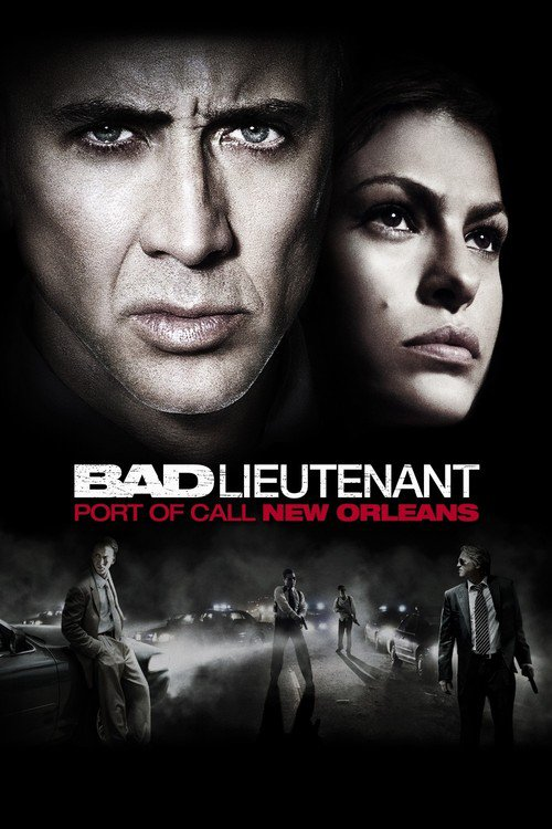 """Poster for the movie """"The Bad Lieutenant: Port of Call - New Orleans"""""""