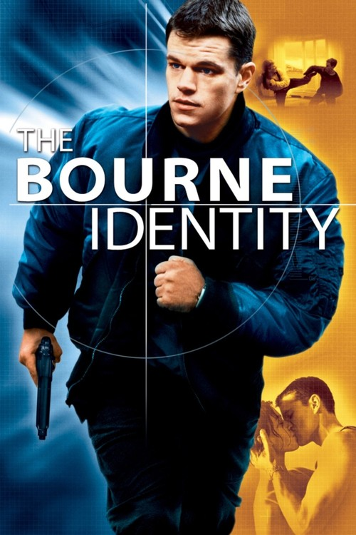"""Poster for the movie """"The Bourne Identity"""""""