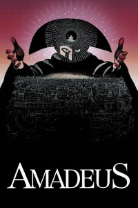 "Poster for the movie ""Amadeus"""