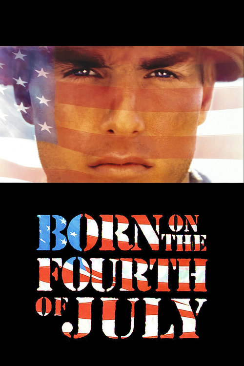 """Poster for the movie """"Born on the Fourth of July"""""""
