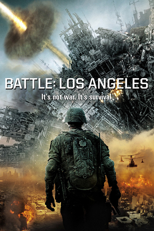 """Poster for the movie """"Battle: Los Angeles"""""""