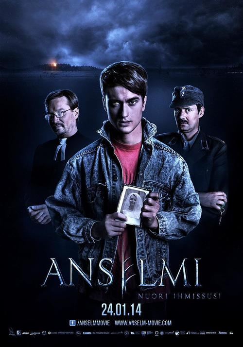 """Poster for the movie """"Anselm, the Young Werewolf"""""""