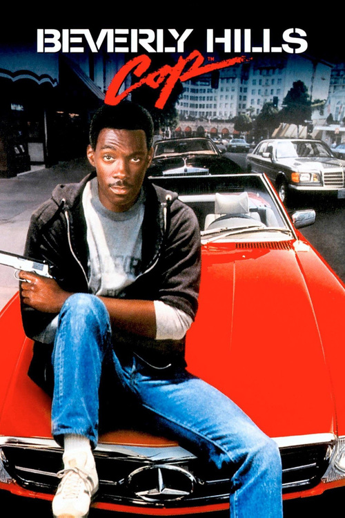 """Poster for the movie """"Beverly Hills Cop"""""""