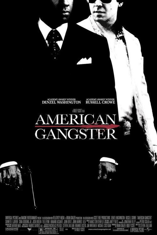 """Poster for the movie """"American Gangster"""""""