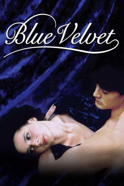 """Poster for the movie """"Blue Velvet"""""""
