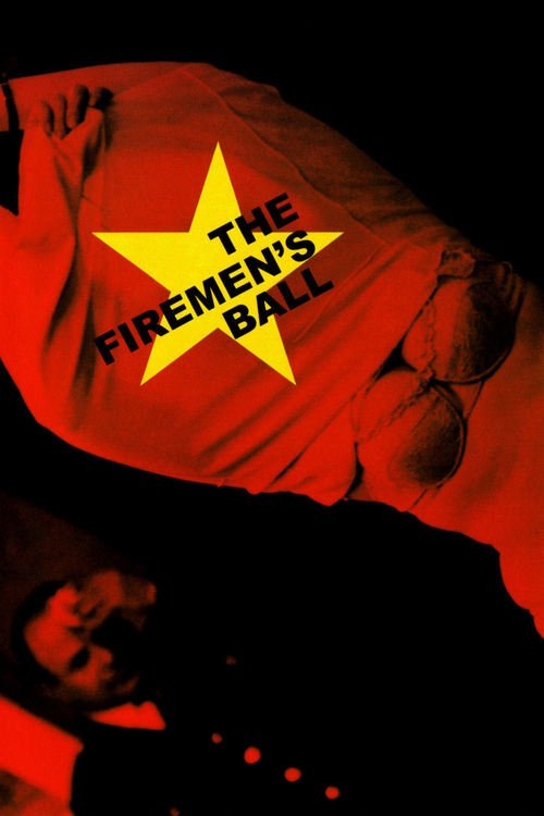 """Poster for the movie """"The Firemen's Ball"""""""