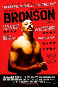 """Poster for the movie """"Bronson"""""""
