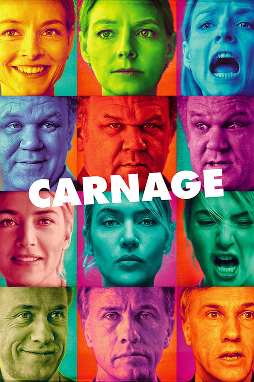 """Poster for the movie """"Carnage"""""""
