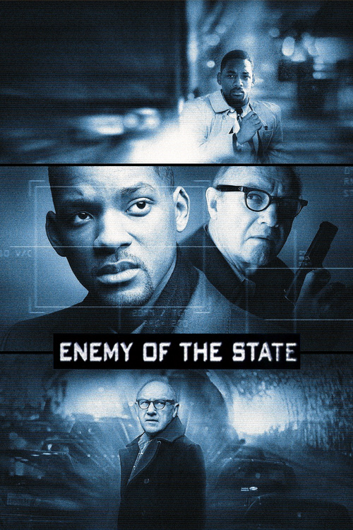 """Poster for the movie """"Enemy of the State"""""""